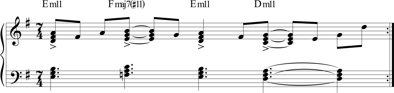 Azimut - piano vamp