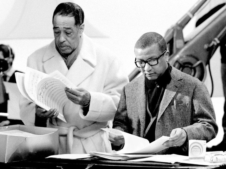Duke Ellington (sx) e Billy Strayhorn (dx)