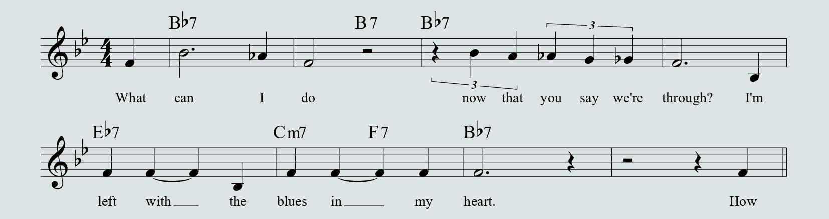 Blues in My Heart - parte A