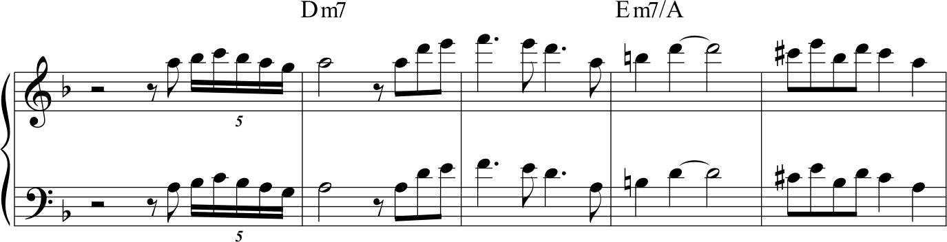 Jim Hall Concierto de Aranjuez, assolo di Roland Hanna
