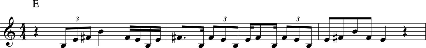 John Coltrane - Aknowledgement esempio 1