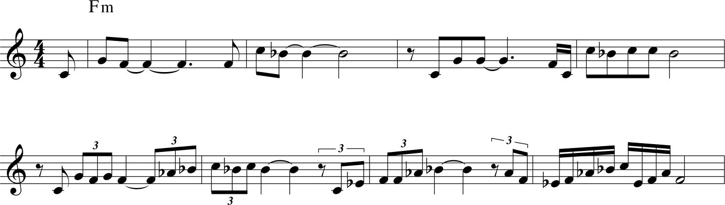 John Coltrane - Aknowledgement esempio 3