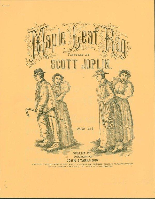 Scott Joplin Maple Leaf Rag spartito
