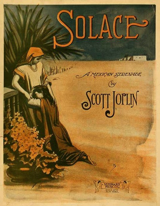 Scott Joplin - Solace mexican serenade spartito