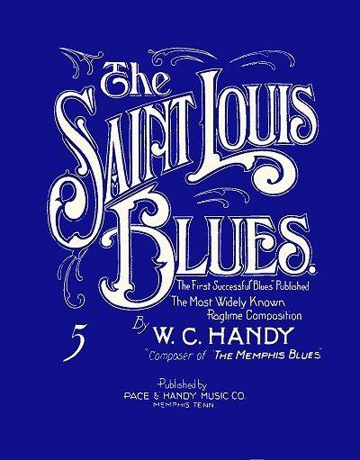 st louis blues la cover della prima edizione