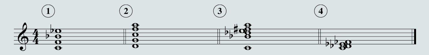 quartal chords, so what chords, cluster