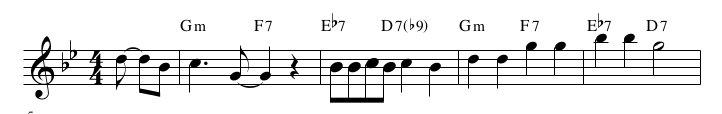 Hit the Road Jack, un pezzo soul con un esempio di cadenza minore