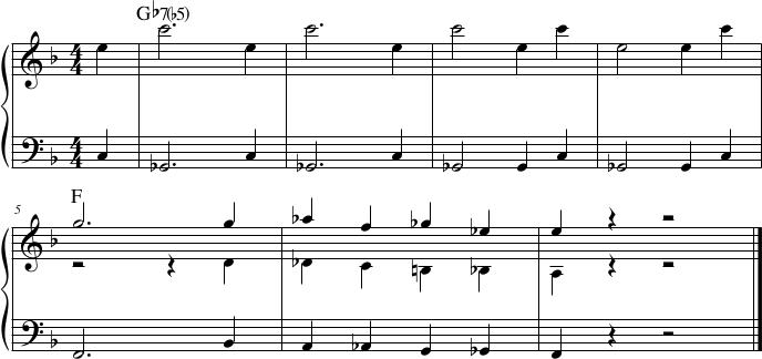 Dizzy Gillespie, introduzione Salt Peanuts